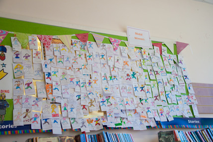 Summer Reading Scheme Record-Breakers Post Its